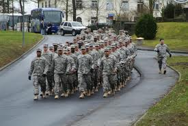 The US army: ready to kick Scotland right in the bad teeth.